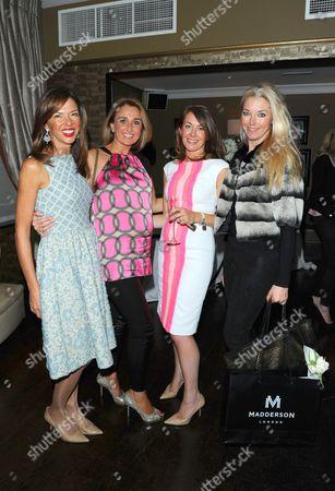 Heather Kerzner, Helen Hughes, Sara Madderson and Tamara Beckwith