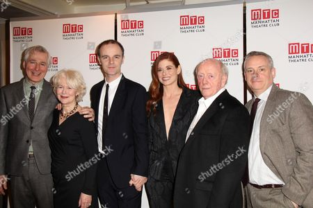 Stock Picture of Playwright John Patrick Shanley, Dearbhla Molloy, Brian F O'Byrne Debra Messing, Peter Maloney, Director Doug Hughes