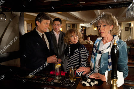 Coronation Street - Ep 7803 Friday 17 February 2012 at 7.30pm Having struggled to give up alcohol Audrey Roberts [SUE NICHOLLS] and Gail McIntyre [HELEN WORTH] decide to take up power-walking. Passing a country pub they decide to stop for a drink but when they bump into Lewis Archer [NIGEL HAVERS] they're gobsmacked. He buys them a drink before making a hasty retreat. Gail insists Audrey must report her sighting of Lewis to the police but Audrey's too embarrassed. Will Lewis surface again?