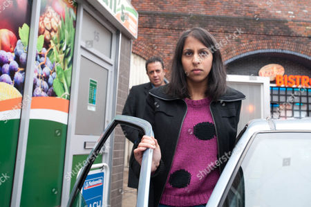 Coronation Street - Ep 7828 Friday 23 March 2012 at 7.30pm Dev Alahan [JIMMI HARKISHIN] says goodbye to Amber Kalirai [NIKKI PATEL].