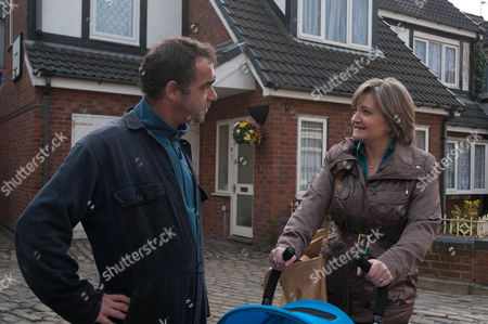 Coronation Street - Ep 7855 Monday 30 April 2012 at 7.30pm Pam Hobsworth [KATE ANTHONY] agrees to look after Jack whilst Kevin Webster [MICHAEL LE VELL] and Sally go on a date.