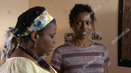 Coronation Street - Ep 7959 Friday 21 September 2012 at 7.30pm Lloyd Mullaney [CRAIG CHARLES] has had a sleepless night after his encounters with Mandy [PAMELA NOMVETE] and Jenna [KRISSI BOHN]. HeÕs growing increasingly convinced that regardless of MandyÕs denials, the girl is his daughter. He goes back to MandyÕs and discovering Jenna is once more alone asks if he can wait for her mother. Jenna agrees and is soon being charmed when Mandy lands. She orders Lloyd out but he insists he needs answers. Mandy goes outside with Lloyd who tells her he knows JennaÕs his. TheyÕre unaware however that Jenna has followed them.
