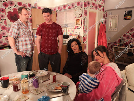 Coronation Street - Ep 8149 Monday 17 June 2013 at 7.30pm When Ryan Connor [SOL HERAS] admits to Steve McDonald [SIMON GREGSON] that while he likes Katy Armstrong [GEORGIA MAY FOOTE] he wishes she and Joseph would move back home Steve offers some advice, always let a woman think something was her idea. Taking this onboard Ryan hints at overcrowding. Katy agrees but her suggestion to deal with it floors Ryan. Als pictured Michelle Connor [KYM MARSH].