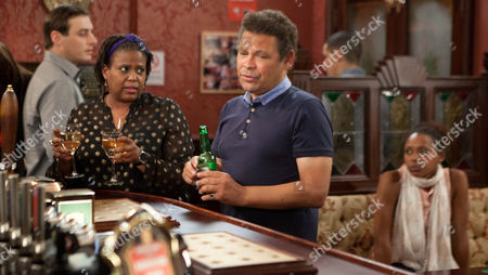 Coronation Street - Ep 8186 Wednesday 7 August 2013 When Lloyd Mullaney [CRAIG CHARLES] overhears Mandy Kamara [PAMELA NOMVETTE] wondering whether his complacency over Jenna Kamara [KRISSI BOHN] lowly job stems from his own lack of ambition he's left stewing.