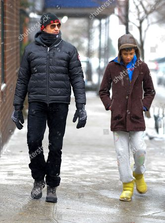 Editorial picture of Hugh Jackman out and about in New York, America - 25 Jan 2014