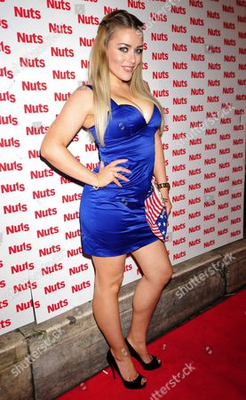 Editorial image of Nuts 10th Anniversary Party, Aura, London, Britain - 23 Jan 2014