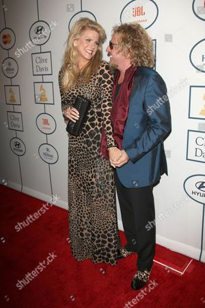 Sammy Hagar and wife Kari Hagar