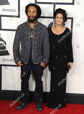 Ziggy Marley and wife Orly Marley