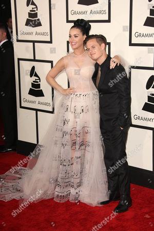 Katy Perry and David Hudson