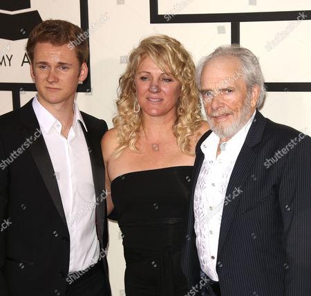 Ben Haggard, Theresa Ann Lane and Merle Haggard