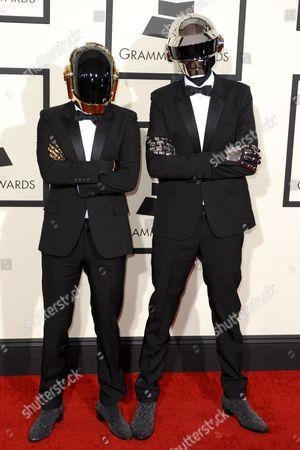 Daft Punk - Guy-Manuel de Homem-Christo and Thomas Bangalter