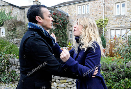 Emmerdale - Ep 6445 Wednesday 9 January 2013 Charity Sharma [EMMA ATKINS] flips, seeing Jimmy King [NICK MILES] consoling Chas Dingle [LUCY PARGETER], and goes for her. Jai Sharma [CHRIS BISSON] approaches and Charity storms off, furious and tearful. At Pear Tree, Charity can't deny when Jai asks if her outburst was about them, not Chas.