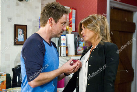 Emmerdale - Ep 6659 Monday 16 September 2013 IS DEBBIE OUT OF HER DEPTH? Debbie Dingle [CHARLEY WEBB] is stunned when Cameron Murray [DOMINIC POWER] proposes to her; will she be able to force herself to say yes in order to keep up the facade?