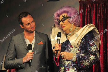 Stock Image of Nick Hardcastle and Dame Edna Everage