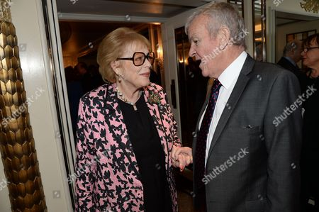 Stock Picture of Antonia Fraser and Lord Matthew Evans