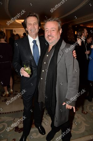 Melvyn Bragg and Hamish McAlpine