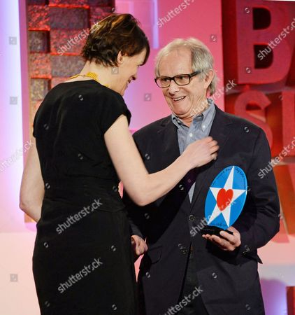Clio Barnard (Writer/Director of The Selfish Giant - winner of Film) and Ken Loach