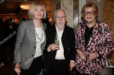 Chrissy Blake, Sir Peter Blake and Antonia Fraser