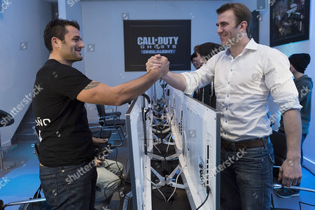 Editorial image of Call of Duty: Ghosts Onslaught DLC Launch Event, London, Britain - 27 Jan 2014