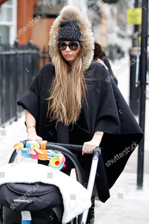 Editorial picture of Katie Price out and about, London, Britain - 27 Jan 2014