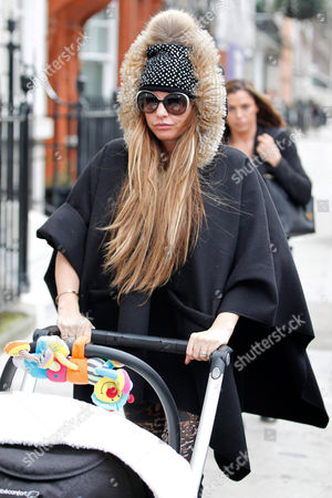 Editorial photo of Katie Price out and about, London, Britain - 27 Jan 2014