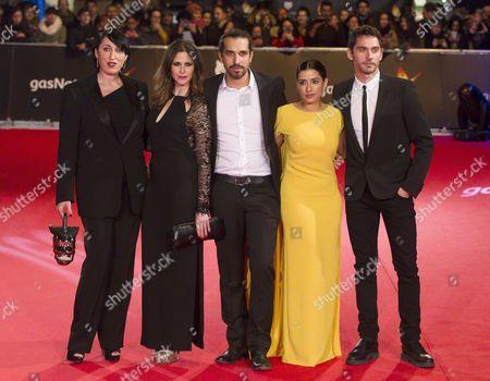 Rossy De Palma, Barbara Santa Cruz, Javier Ruiz Caldera, Inma Cuesta and Paco Leon