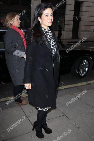 Editorial photo of Princess Badiya bint El Hassan at BBC Radio 2 Studios, London, Britain - 28 Jan 2014