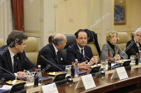 Editorial photo of Francois Hollande and Recep Tayyip Erdogan meeting, Ankara, Turkey - 27 Jan 2014