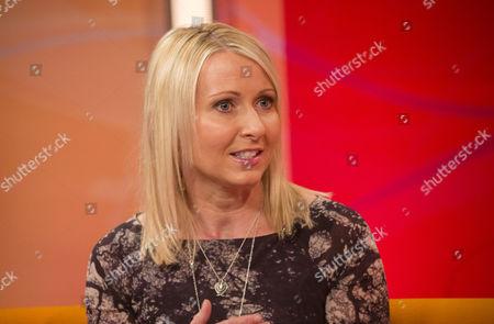Editorial photo of 'Lorraine Live' TV Programme, London, Britain - 28 Jan 2014