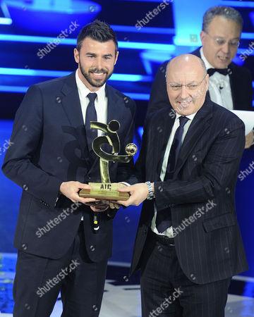 Editorial picture of Gran Gala del calcio AIC awards ceremony, Milan, Italy - 27 Jan 2014