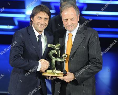 Antonio Conte and Renzo Ulivieri