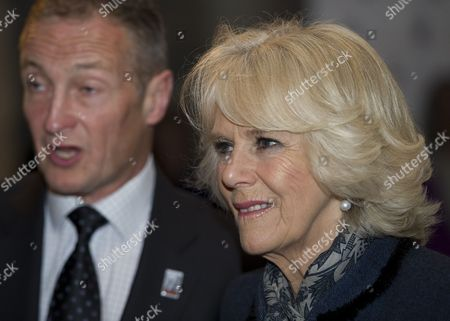 Camilla Duchess of Cornwall with Richard Dunwoody