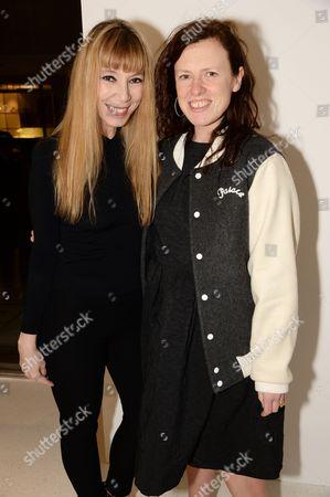 Victoire de Castellane and Katie Grand