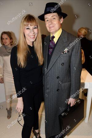 Victoire de Castellane and Nick Foulkes