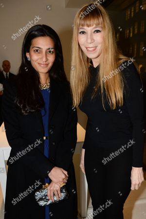 Stock Picture of Megha Mittal and Victoire de Castellane