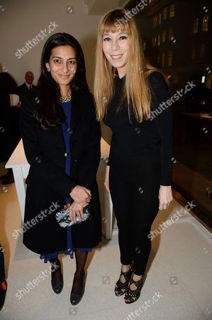 Megha Mittal and Victoire de Castellane