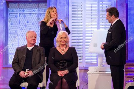 Les Dennis, Nadine Baggott and Diane Crush with Alan Titchmarsh