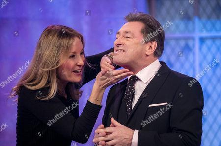 Nadine Baggott and Alan Titchmarsh