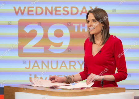 Editorial photo of 'Lorraine Live' TV Programme, London, Britain - 29 Jan 2014