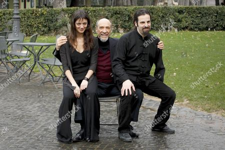 Diana Dell'Erba, F Murray Abraham and Luis Nero