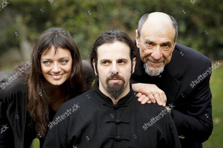 Diana Dell'Erba, Luis Nero and F Murray Abraham