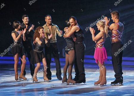 Sam Attwater and Vicky Ogden, Bonnie Langford and Andrei Lipanov, Beth Tweddle and Lukasz Rozycki, Suzanne Shaw and Matt Evers