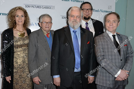 Stock Picture of Farley Ziegler, David Hockney, Tim Jenison, Penn Jillette, Teller