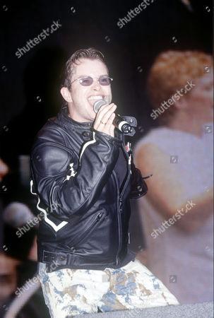 Stock Photo of Stephen Gately