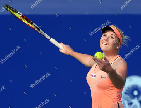 Editorial photo of PTT Pattaya Open Tennis Tournament, Pattaya City, Thailand - 30 Jan 2014
