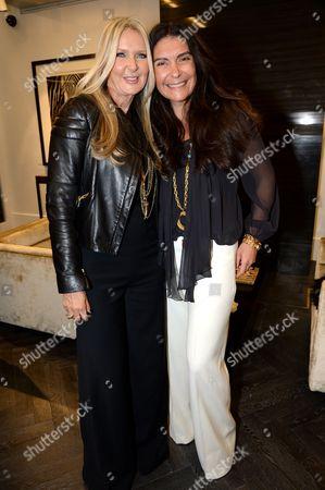 Editorial image of Launch of Amanda Wakeley flagship store, 18 Albemarle Street, London, Britain - 30 Jan 2014
