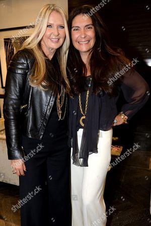 Stock Picture of Amanda Wakeley and Sagra Maceira de Rosen