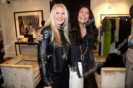 Amanda Wakeley and Sagra Maceira de Rosen