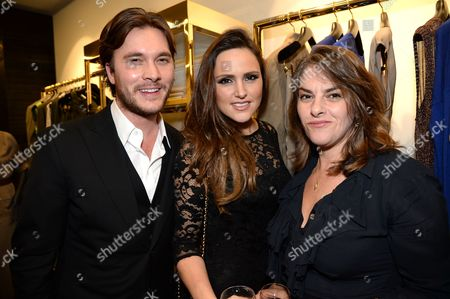 Ben Caring, Elle Caring and Tracey Emin