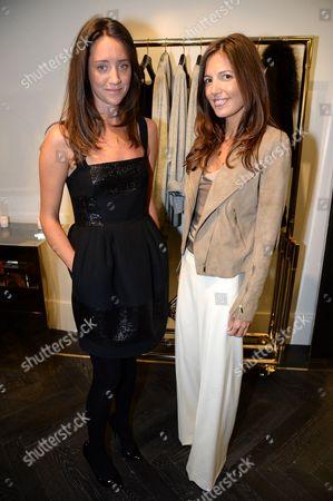 India Langton and Amanda Sheppard